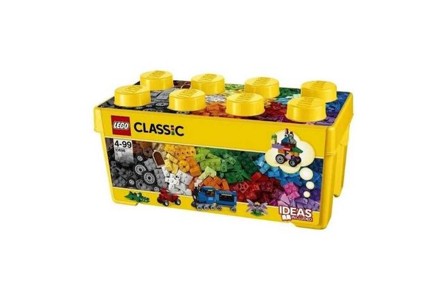 Кубики для детей LEGO Classic 484 детали. Развитие и творчество.