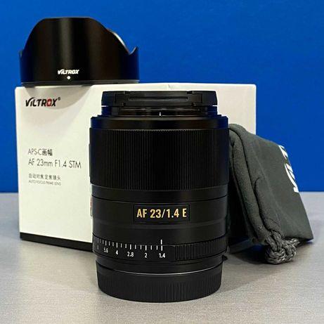 Viltrox AF 23mm f/1.4 STM ED IF (Sony E) - NOVA - 2 ANOS DE GARANTIA