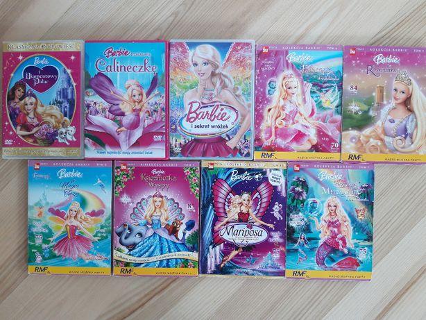 Barbie - bajki 8 DVD