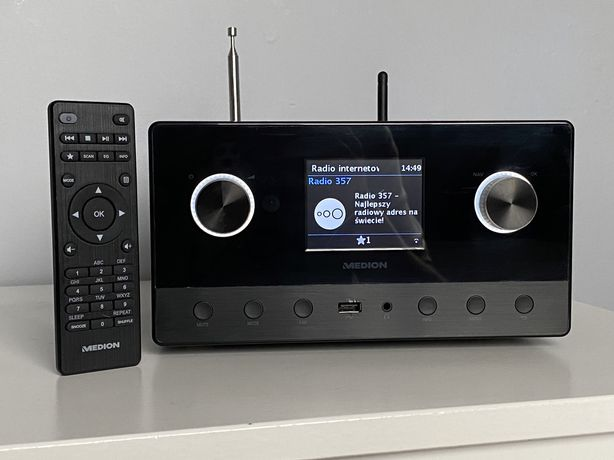 Radio internetowe wieza stereo MD87295 Medion