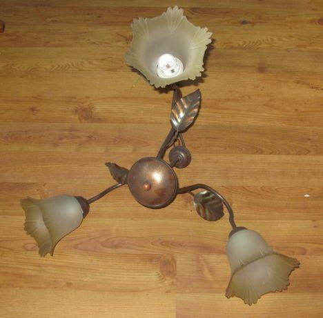 Lampa sufitowa - Żyrandol - Vintage