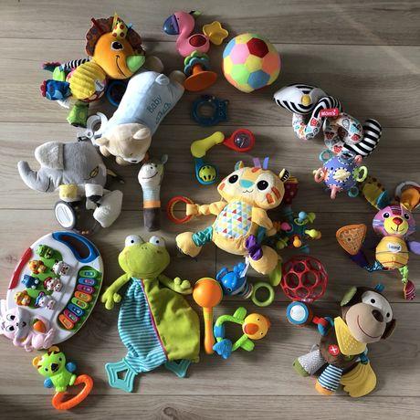 Zestaw duza paka zabawek dla malucha dziecka