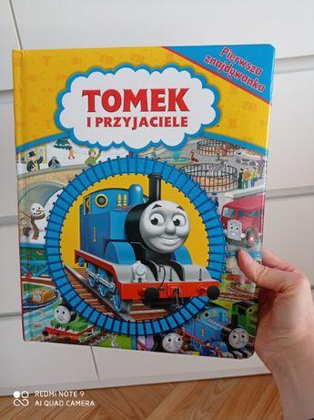 książka Tomek i przyjaciele Pierwsza znajdowanka tekturowe strony