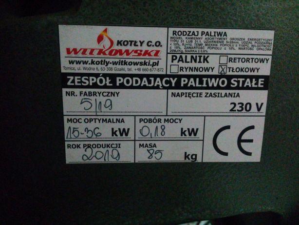 Podajnik , palnik MULTIPAL 25 Witkowski moc 15-36 KW + kosz sterownik