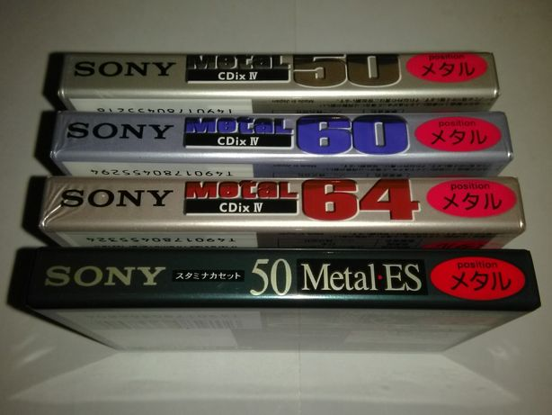 Аудиокассеты SONY Metal Japan market аудио кассеты