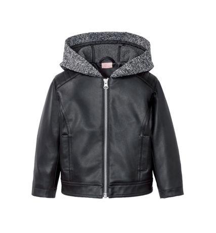 Nowa kurtka skórzana dziewczęca rozmiar 104 lupilu