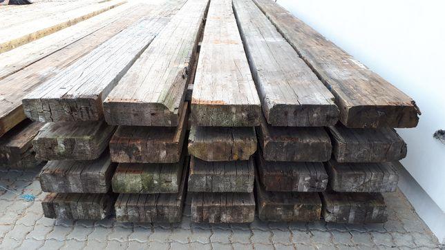 Belki drewniane konstrukcyjne klejone