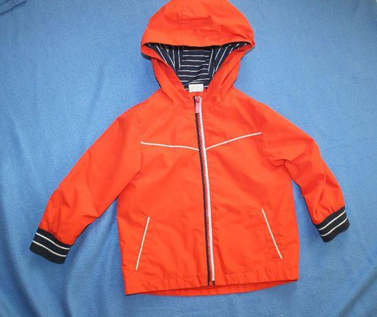 Куртка ветровка на 2-3 года F&F оранжевая