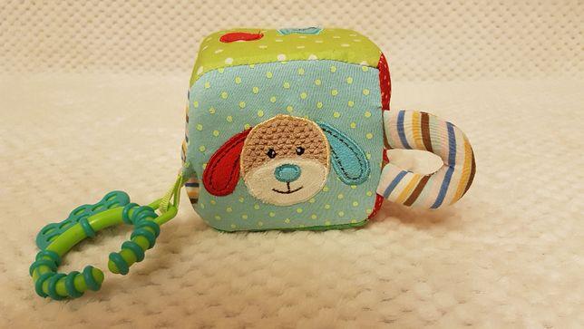Развивающая игрушка мягкий кубик