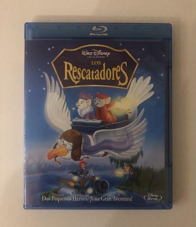 Blu-ray DVD Disney - Bernardo e Bianca