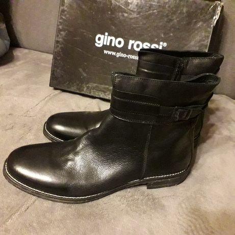 Botki męskie Gino rossi rozmiar 45