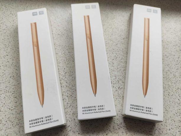 Преміум Ручка Xiaomi MI Pen Gold Metal та стержні 3 шт (Оригінал)