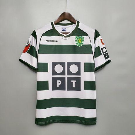 Camisola Retro Sporting 2002/03