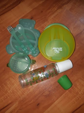 Набор: детская посуда для малышей