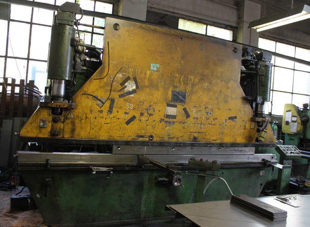 Prasa krawędziowa hydrauliczna 100 ton x 4000 mm giętarka krawędziarka