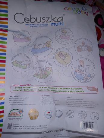 Poduszka ciążowa Ceba baby z mikroperłą