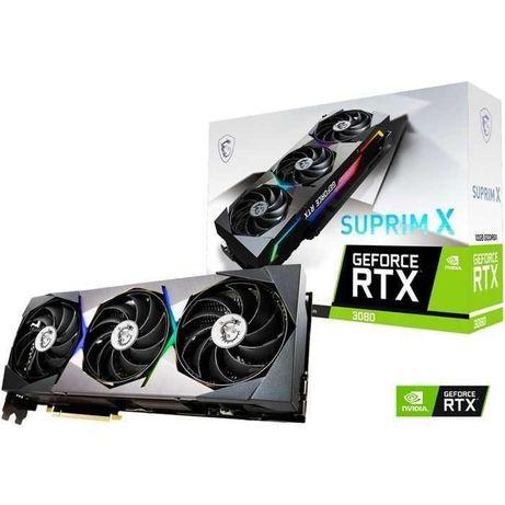 10x MSI GeForce RTX 3080 SUPRIM X 10GB gddr6X (NOVAS SELADAS)