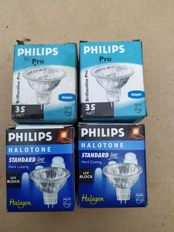 Żarówka, żarówki, żarnik halogen halogenowe Philips 12V, 35W, 50W Nowe