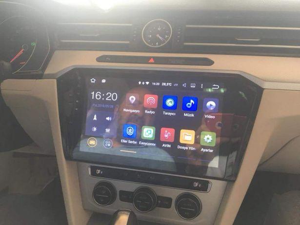 Auto Rádio VW Passat GPS Bluetooth USB 2015 e 2016 e 2017 e 2018
