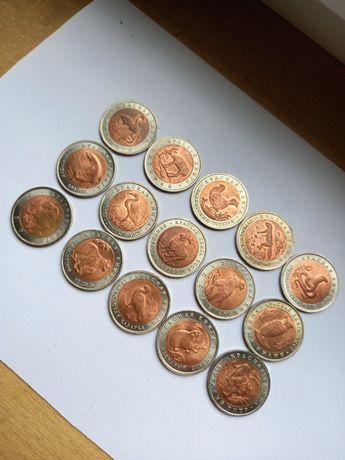 Набор (полный) монет красная книга