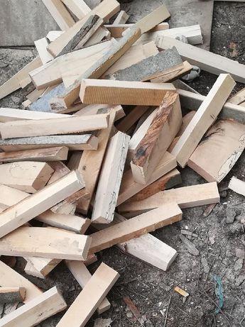 Drzewo drewno workowane opałowe suche Buk