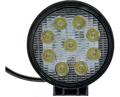 Светодиодная лед фара Фары LED 9 лампочек мтз юмз Нива дон Т-150