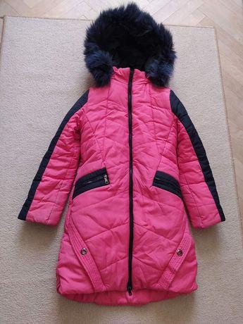 Курточка зимова на дівчинку нова