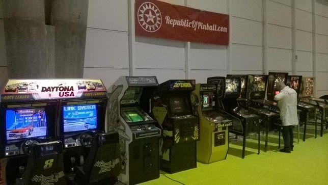 Flipper / Arcade / Simuladores - Eventos / Aluguer / Reparação