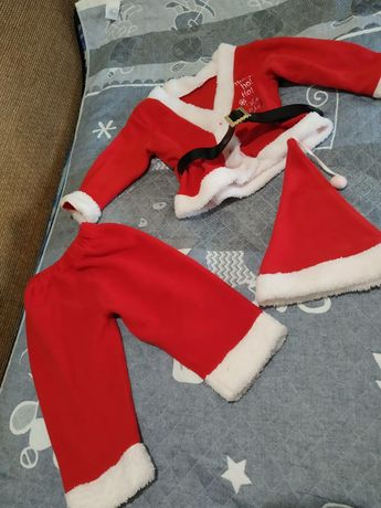Новогодний костюм для малыша 9-12 месяцев