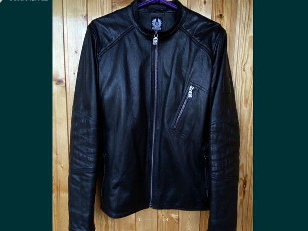 Куртка кожаная мужская Belstaff.