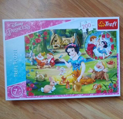 Puzzle trefl królewna śnieżka
