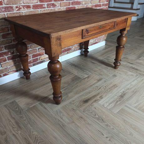 Stół drewniany biurko antyk międzywojenny