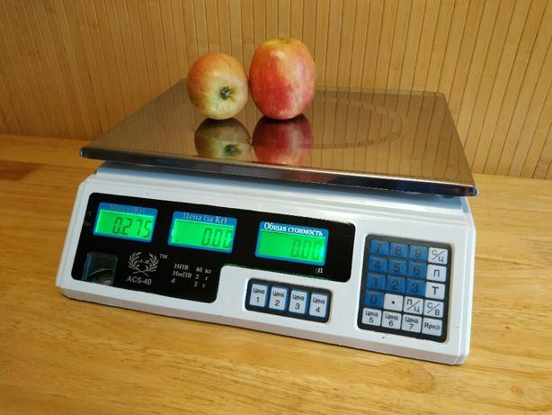 Весы электронные ACS A2 , ваги електронні до 40 кг
