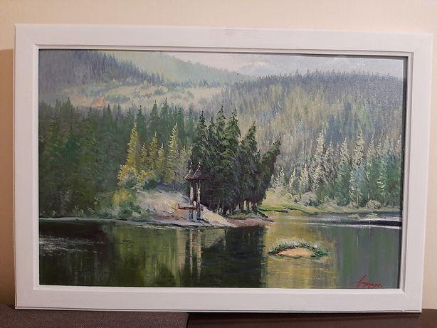 """Картина """"Синевир"""".,полотно, олія 45х62 см."""