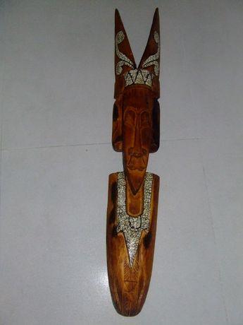 Maska rzeźba figurka