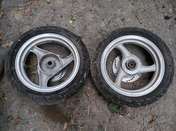 Скутер колеса комплект 18шліців