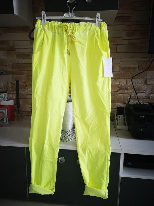 Spodnie w kolorze cytryny Legnica - image 1