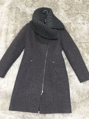 Пальто, пальто зимнее, шерстяное пальто, Размер S