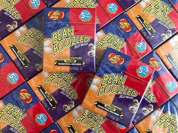 Конфеты Бобы Jelly Belly BeanBoozled 5-th Edition 45g США Бин бузлд