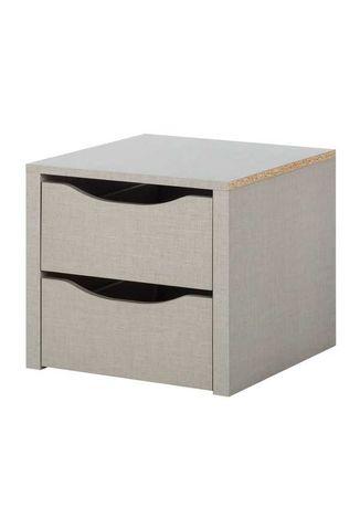 Komoda 2 szuflady / szafka półka biurowa / schowek do szafy NOWA