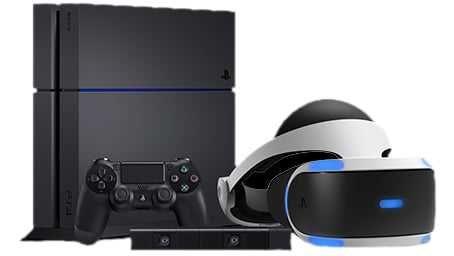 ZESTAW: PS4 + Okulary VR + Kamerka + 2 pady + ładowarka + 16 gier