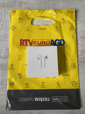 Apple Airpods 2 Nowe,RTV, Paragon