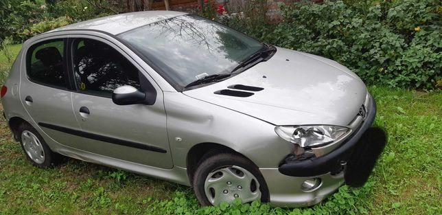 Peugeot 206 r. 2003, 1.1L na części