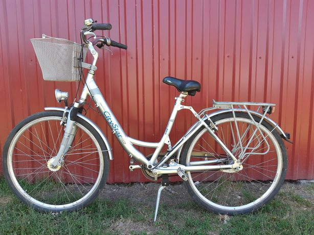 Rower damka Alu City Star