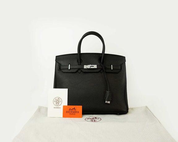 Mala Hermès Birkin Black alto padrão