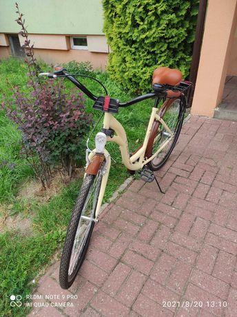 Miejski rower damski drawstar retro lekka Damka Eco Bez Biegów
