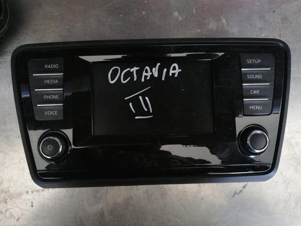 Radio Wyświetlacz ekran Skoda Octavia 3 lll