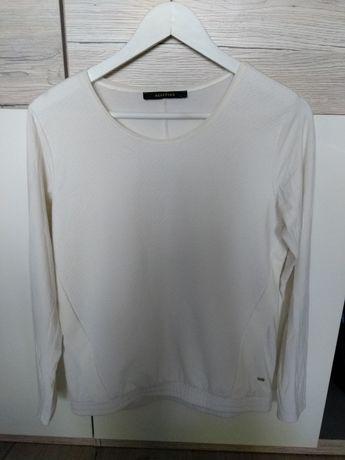 Wyprzedaż szafy - biała bluzka/ bluza z długim rękawem - S - Reserved