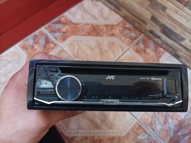 Radio samochodowe JVC CD USB AUX Bluetooth telefon jak nowe