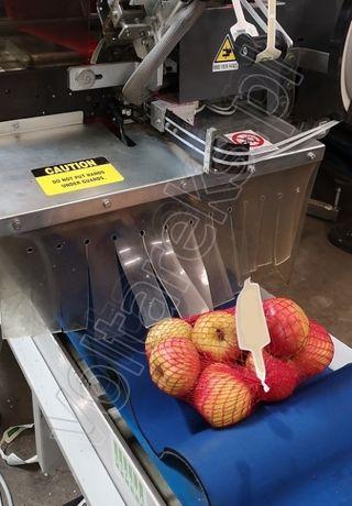 Klipsownica SORMA R01 120, maszyna do pakowania jabłek i owoców